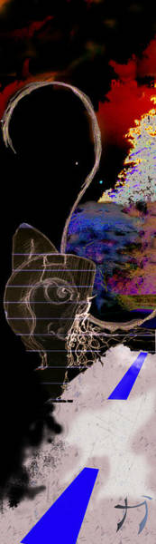 Digital Art - Danza by Carlos Paredes