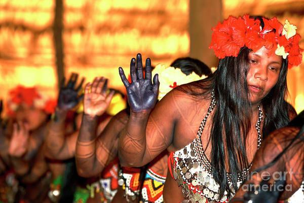 Indio Photograph - Danza Nativa In Panama by John Rizzuto