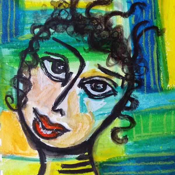 Daphne - Vivid Vixen 4 Art Print