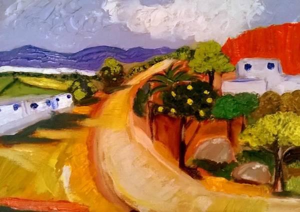 Painting - Dar Manchar by Rusty Gladdish