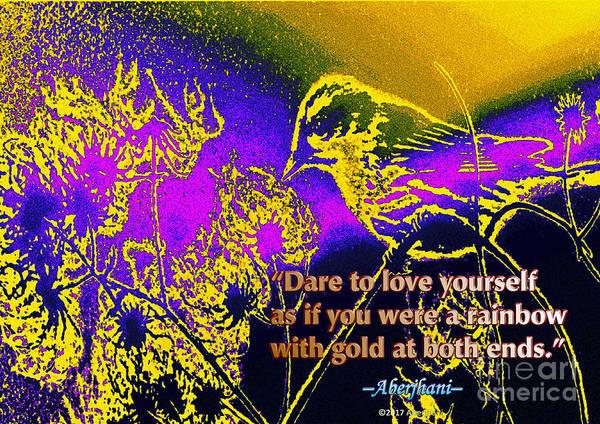 Respect Digital Art - Dare To Love Yourself by Aberjhani