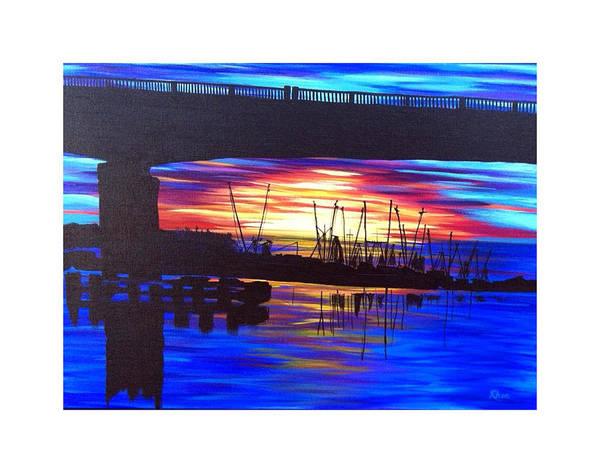 Rhea Painting - Darien Dawn by Rhea Witthoft