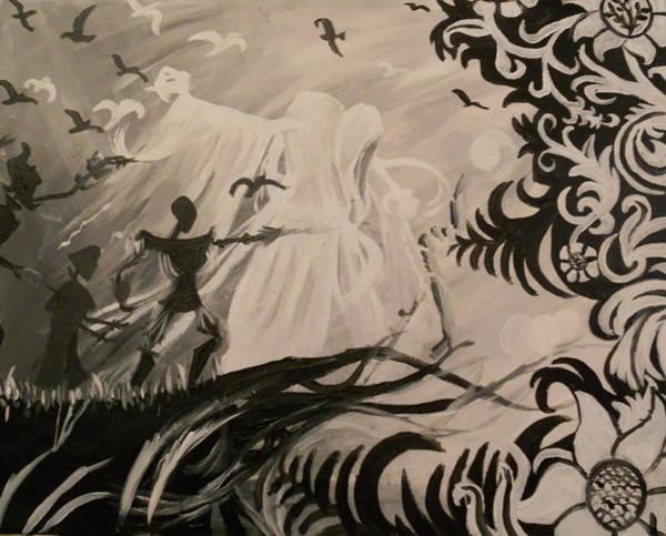 Wall Art - Painting - Dark And Light by Lisa Leeman