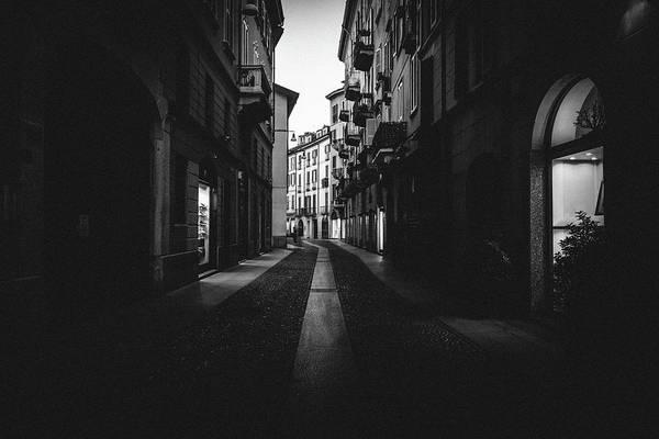 Photograph - Dark And Moody Milan, Italy by Alexandre Rotenberg