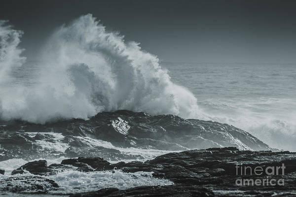 Wall Art - Photograph - Dark Atmospheric Coastline by Jorgo Photography - Wall Art Gallery