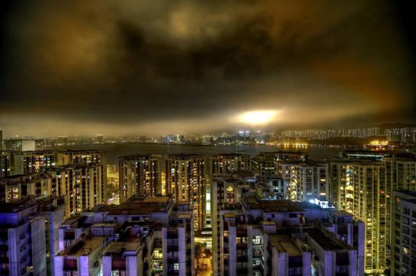 Blade Runner Photograph - Dark City by Jon  Sheer