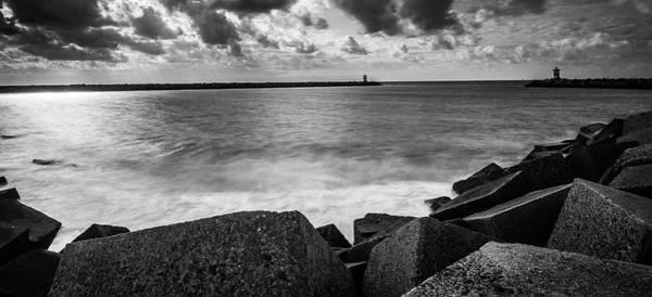 Scheveningen Pier Photograph - Dark Clouds Above Scheveningen by Marcel Van der Stroom