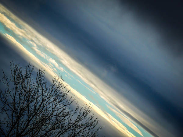Photograph - Dark Clouds Parting by James Truett