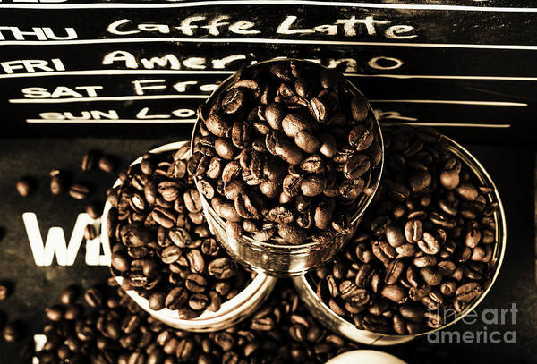 Wall Art - Photograph - Dark Coffee Shop by Jorgo Photography - Wall Art Gallery