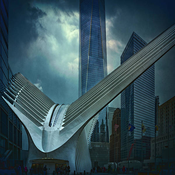 Wall Art - Photograph - Dark Day At Ground Zero by Chris Lord