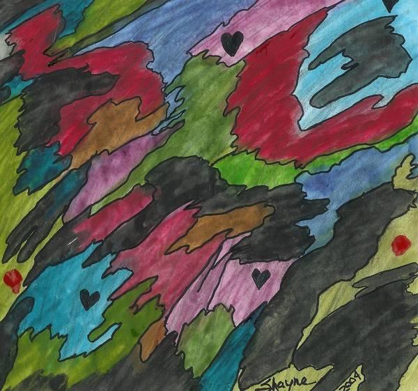 Painting - Dark Days by Susan Schanerman