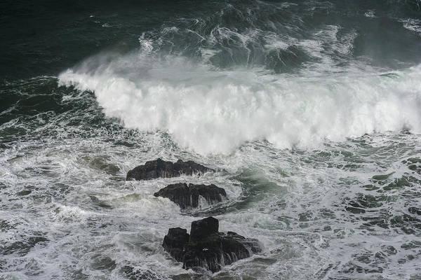Photograph - Dark Deep Sea by Robert Potts