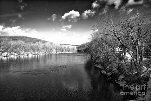 Photograph - Dark Delaware River by John Rizzuto