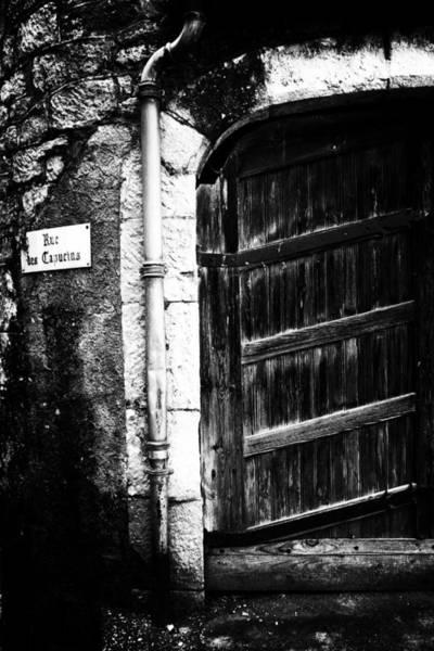 Photograph - Dark Door by Georgia Fowler
