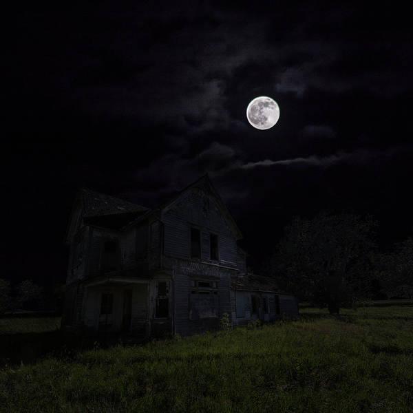 Abandoned House Wall Art - Photograph - Dark Embrace by Aaron J Groen