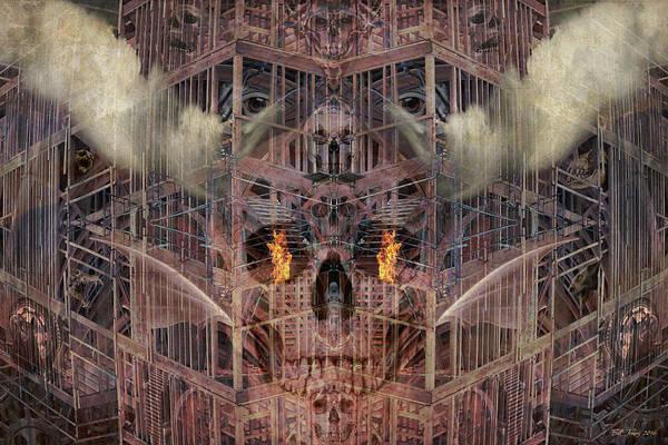 Gargoyle Digital Art - Dark Energy by Bill Jonas
