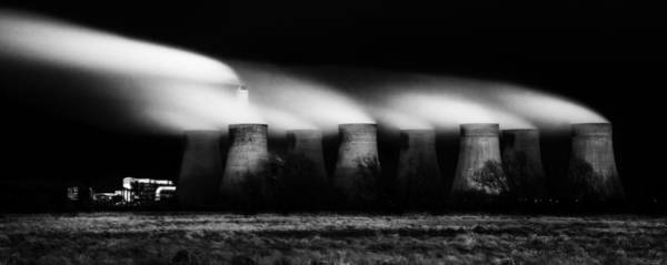 Power Station Wall Art - Photograph - Dark Light by Nigel Jones