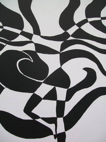 Latina Painting - Dark Little Place by Laurette Escobar
