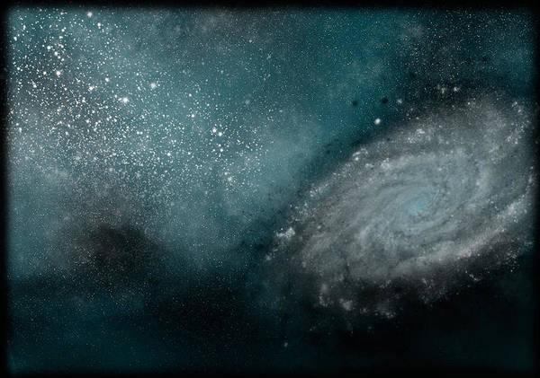 Night Digital Art - Dark Matter by Maye Loeser