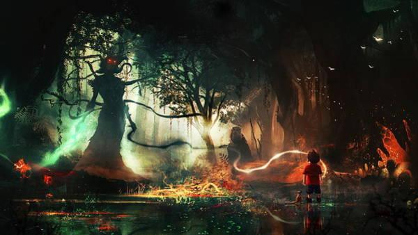 Fantasy Digital Art - Dark by Maye Loeser