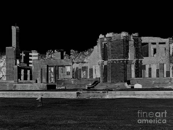 Photograph - Dark Night At The Ruins by D Hackett
