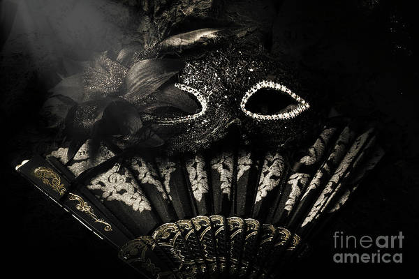 Masquerade Wall Art - Photograph - Dark Night Carnival Affair by Jorgo Photography - Wall Art Gallery