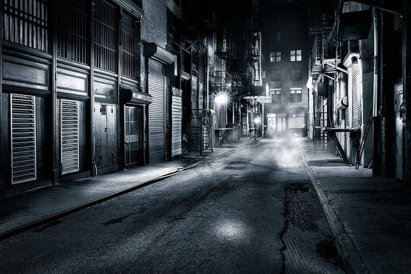 Photograph - Dark Nyc by Mihai Andritoiu