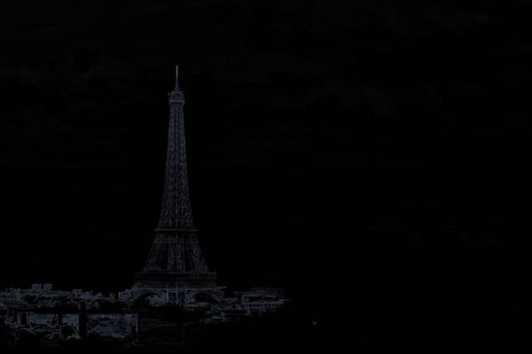 Wall Art - Photograph - Dark Paris by Rabiri Us