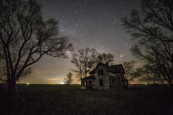 Photograph - Dark Places On The Prairie  by Aaron J Groen