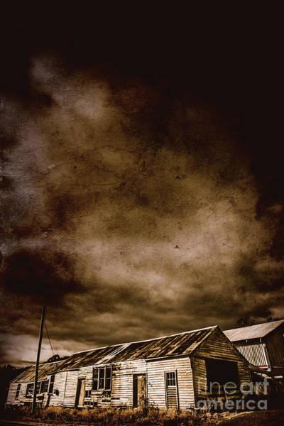 Photograph - Dark Rural Ruins by Jorgo Photography - Wall Art Gallery