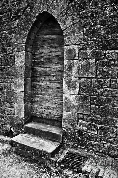 Photograph - Dark Secret Behind The Medieval Door by Silva Wischeropp