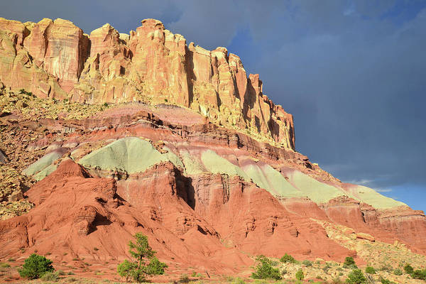 Photograph - Dark Skies Over Grand Wash Entrance by Ray Mathis
