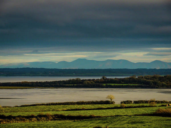 Photograph - Dark Skies Over Ireland's Shannon Estuary by James Truett