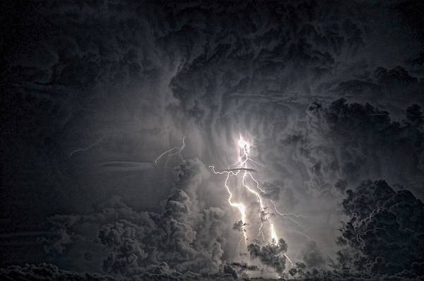 Photograph - Dark Sky by Pete Rems