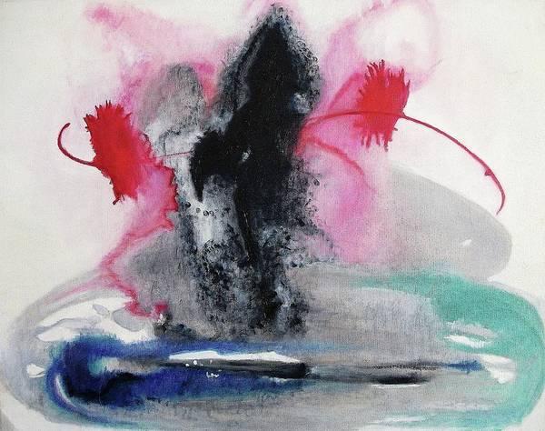 Leclair Painting - Dark Spirits by Suzanne  Marie Leclair