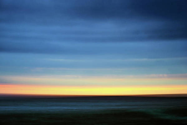 Photograph - Dark Sunset Colors by Christopher Johnson