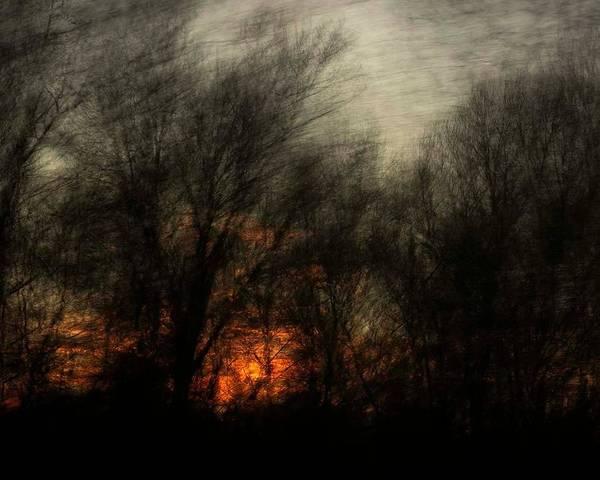 Photograph - Dark Sunset by Gerald Grow