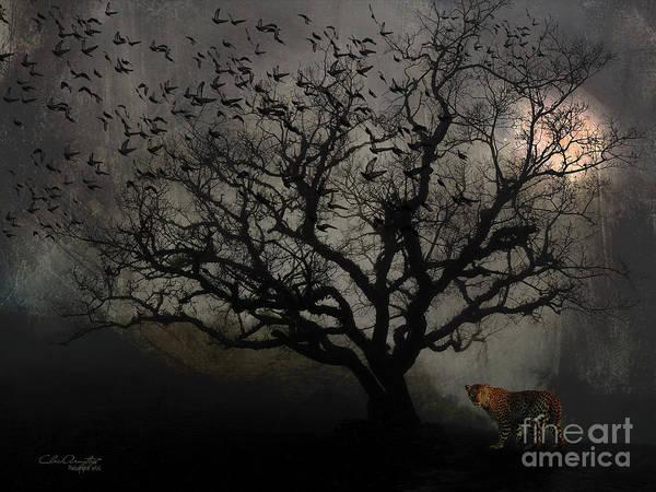 Digital Art - Dark Valley by Chris Armytage