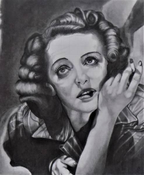 Drawing - Dark Victory by Chuck Caputo