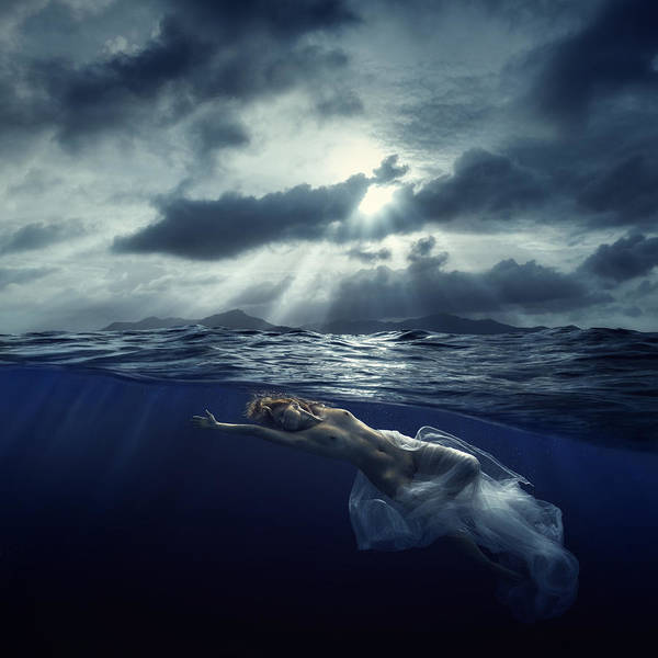 Photograph - Dark Water by Dmitry Laudin