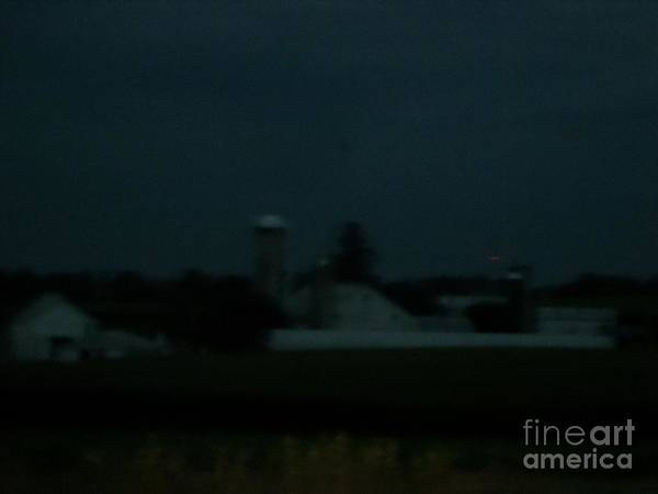 Photograph - Darkness At The Farm by Christine Clark