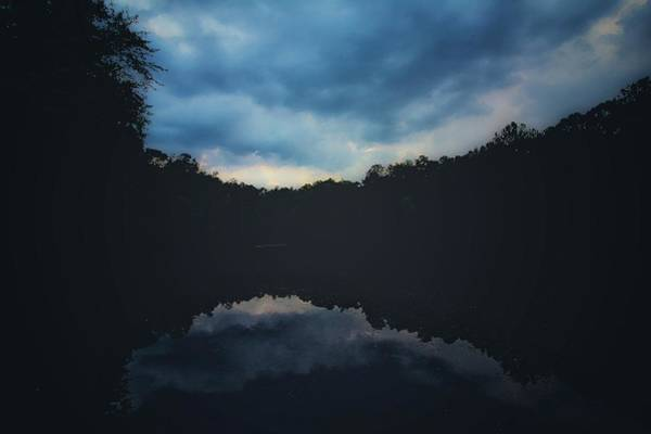 Photograph - Darkness by Mike Dunn