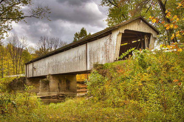 Photograph - Darlington Covered Bridge by Jack R Perry