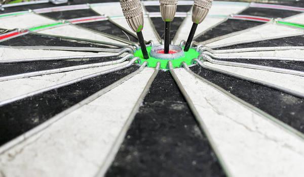 Aim Photograph - Dartboard by Tom Gowanlock