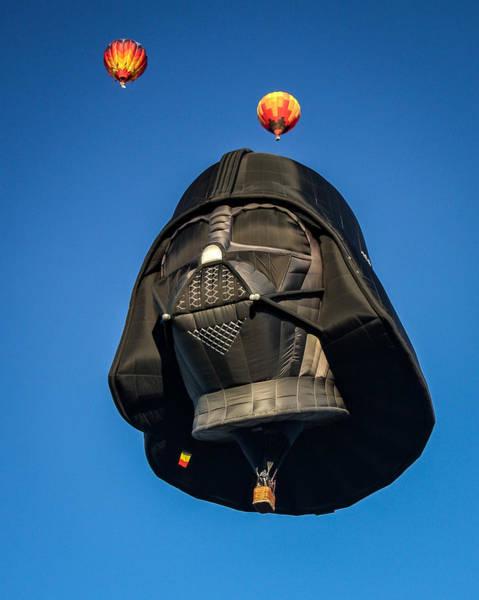 Darkside Photograph - Darth Balloon by Joe Myeress