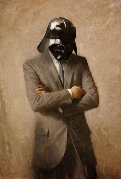 She Digital Art - Darth Kennedy by Mitch Boyce
