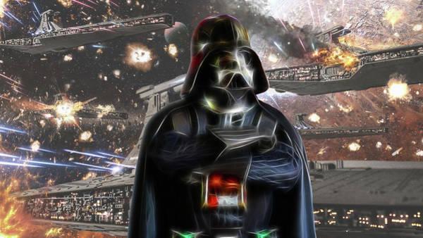Darkside Photograph - Darth Vader by Doc Braham