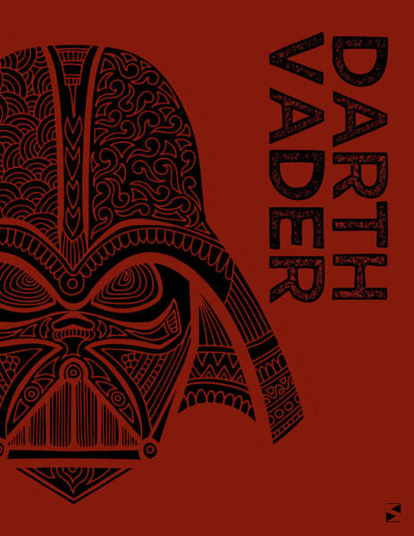 Darth Vader Mixed Media - Darth Vader - Star Wars Art  by Studio Grafiikka