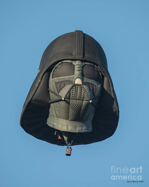 Photograph - Darth Vader by Steven Natanson
