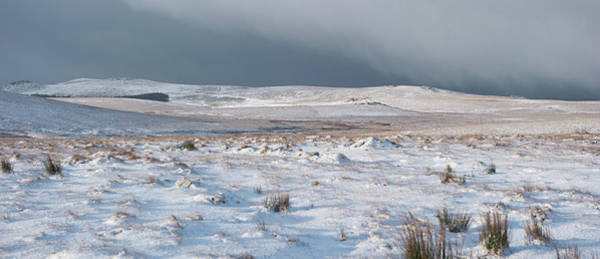 Photograph - Dartmoor In The Snow by Helen Northcott